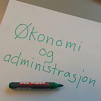 Økonomi og administrasjon